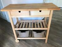 Ikea kitchen butcher trolley