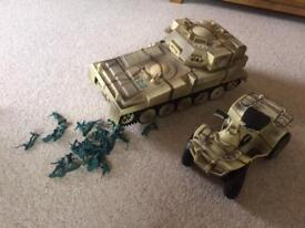 Large Army Vehicles