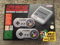 Mini SNES Super Nintendo - Sold Out Everywhere !