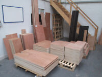 PALLET OF PLYWOOD OFF CUTS - 35 FULL SHEETS WORTH INC DELIVERY
