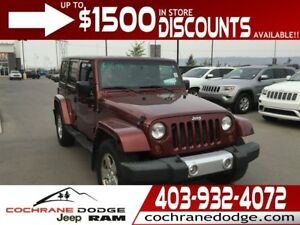 2008 Jeep Wrangler Sahara - FUN FOR ALL SEASONS!
