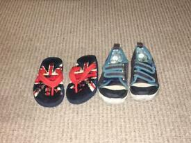 Size 8 boys toddler shoes
