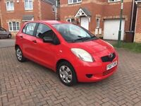 2007 TOYOTA YARIS T2 1 LITRE, MOT 12 MONTHS, SERVICE HISTORY, HPI CLEAR