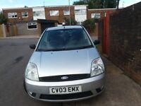 Fiesta diesel.zetec silver £30. tax a year !