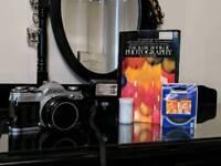 Classic CANON AE-1 33mm Film Camera with CANON FDn 1:1.8 F=50 Prime Lens