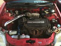 Honda Civic ek4 ek9 vti Type R AEM long arm intake induction kit vtec b series b16a b16b