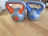 Kettlebell set 6kg and 8kg