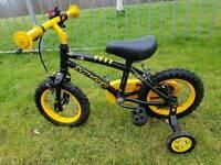 "Halfords Bumble Bee 12"" bike"