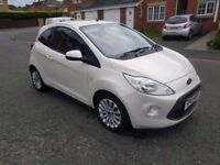 2012 ford ka 1.2 zetec 12 nths mot full service history 1 owner pearlescent paint stunning
