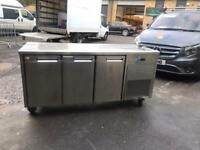Commercial bench counter pizza fridge for shop pizza meat takeaway jshshs