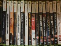 Bundle of XBox 360 Games (18+ rating)