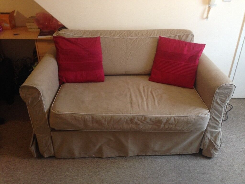 Ikea Hagalund Double Sofa Bed With Storage Draw And