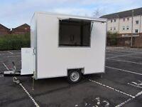 Ex Demo New £13,950 Huge Saving Snack Van, Catering Trailer, Burger van
