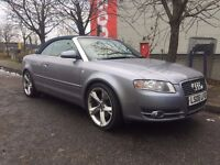 AUDI A4 CONVERTIBLE 1.8 TURBO FLAWLESS DRIVE FSH AND MOT