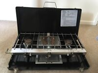Double Camping Cooker & Grill