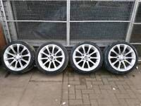 """18""""BMW Alloy wheels With Tyres"""