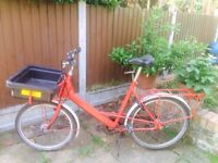 Pashley ex-postie delivery Royal Mail bike