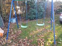 Outdoor Swing - Children or kids - Adjustable seat height - Small Charitable donation to purchase