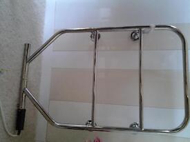Dimplex chrome electric towel rail 230volts 90watts