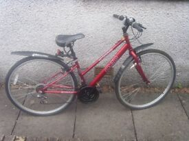 Ladies bike. wants to be used.