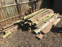 FREE used timber wood
