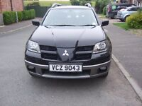 2004 Mitsubishi Outlander Sport automatic 2.4i with full years mot with gas conversion 4wd!!!!!