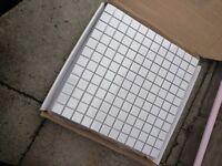 White Mosaic tiles free