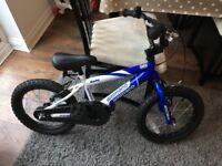 Boys Ammaco Rocky BMX bike 16 inch