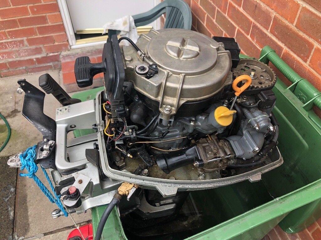 Honda 9.9 4 Stroke Outboard Boat Engine