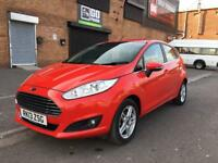 2013 Ford Fiesta zetec 1.2 petrol 5 door hatchback 12 month mot genuine low mileage
