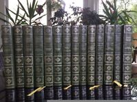Leather Bound Complete Works of Charles Dickens. 14 books. Centennial Edition. Heron Books (1967)