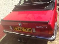 BMW E30 lip boot spoiler