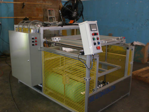 """VACUUM FORMER 30"""" X 30"""" TOP BOTTOM HEATERS THERMOFORMING"""
