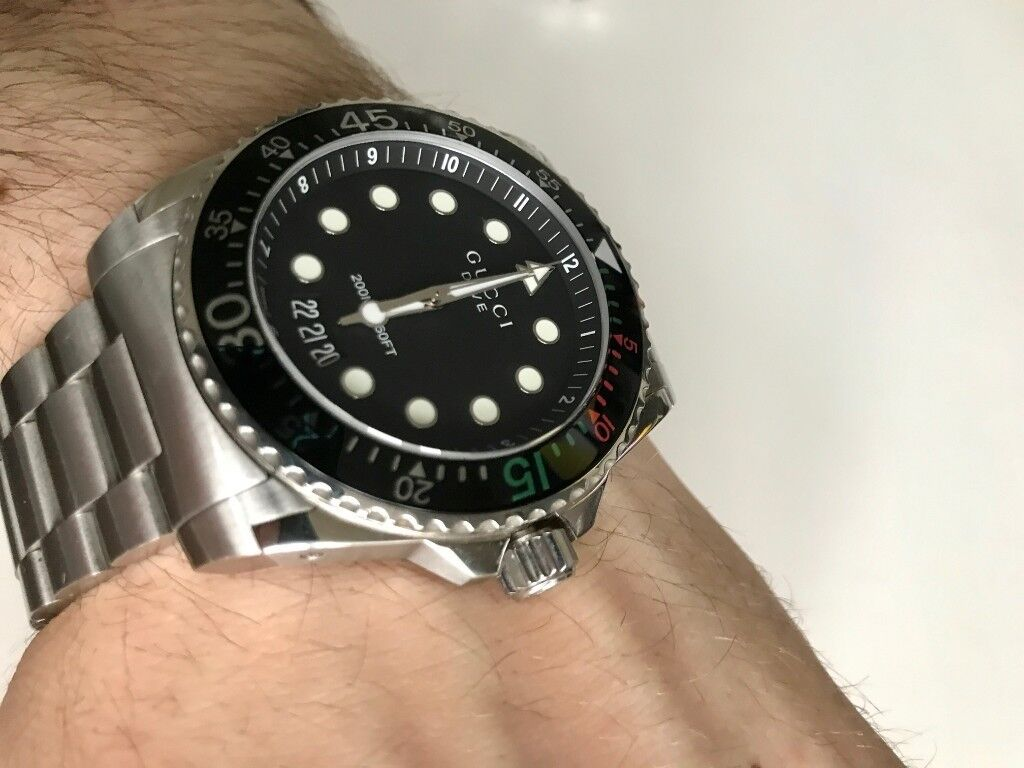 c0f2d457e Mens Gucci Dive Watch | in Aberdeen | Gumtree