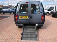 Factory mobility van wheel chair scooter etc ramp belts 5 seat Citroen dispatch 1.9 Diesel 82k FSH