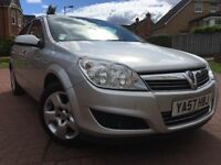 *12 MTHS WARRANTY*2007(57)VAUXHALL ASTRA 1.6 CLUB 5DR HATCH WITH 10 MONTHS MOT 2 KEYS*PART EX WELC*