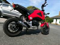 Honda msx grom Takegawa exhaust system. Not kitaco