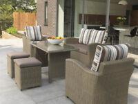 Outdoor Rattan Garden Suite