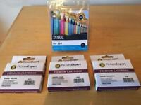 2 x HP 364 Ink cartridge Sets As New £20 ONO