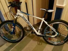 Boardmen customized mountain bike