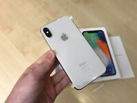 iPhone X 64GB Silver EE