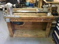 Myford ML8 Woodturning Lathe plus extras