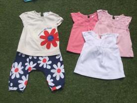 Girls 6-9 months clothes Next, M&S, M&Co, Gap
