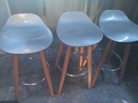 Three breakfast chairs