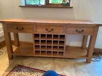 For Sale Hard Wood Sideboard