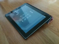 APPLE IPAD 2 2nd GENERATION A1395 16GB 9.7inch TABLET BLACK & SILVER plus extras