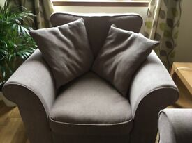 Two Seater Sofa & Armchair M&S