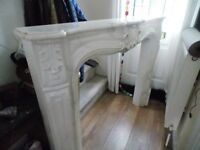 French Classical Fire Surround