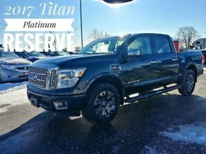 2017 Nissan Titan Platinum Reserve Full Loaded  FREE Delivery