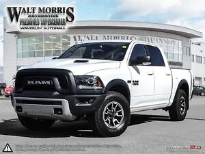 2017 Ram 1500 REBEL: ACCIDENT FREE, ONE OWNER